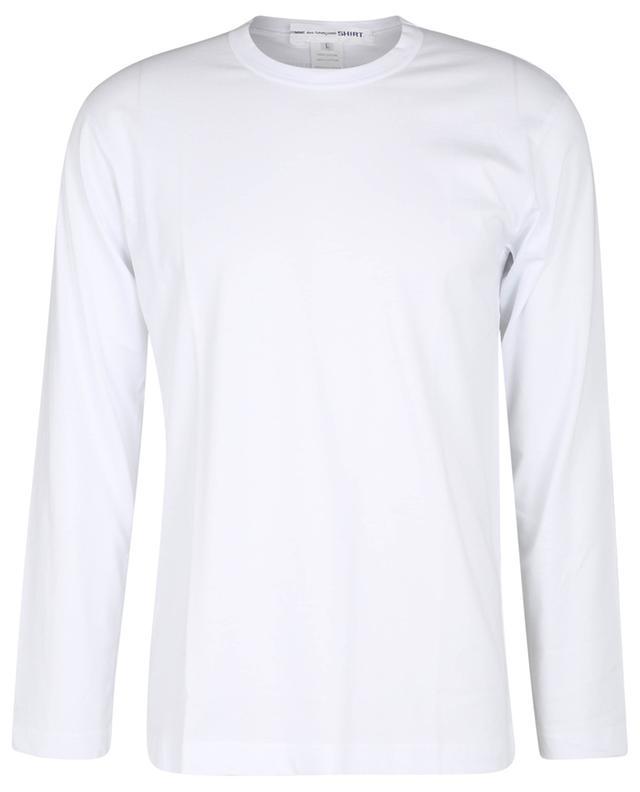 T-shirt à manches longues imprimé logo dans la nuque COMME DES GARCONS SHIRT