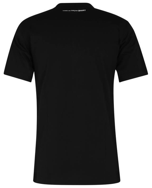 T-shirt à manches courtes imprimé logo dans la nuque COMME DES GARCONS SHIRT