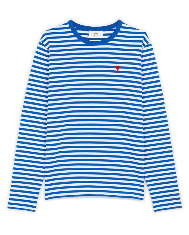 T-shirt marinière à manches longues Ami de Coeur AMI