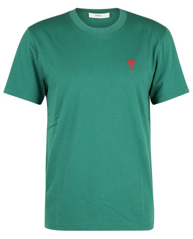 T-shirt à manches courtes en coton bio Ami de Coeur AMI