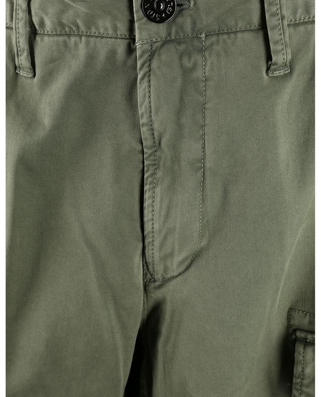 Pantalon cargo slim en gabardine Compass STONE ISLAND