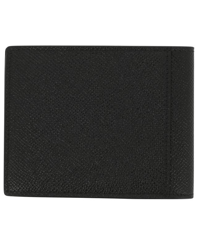 Portefeuille en cuir Saffiano Plate Squared Folded BALENCIAGA