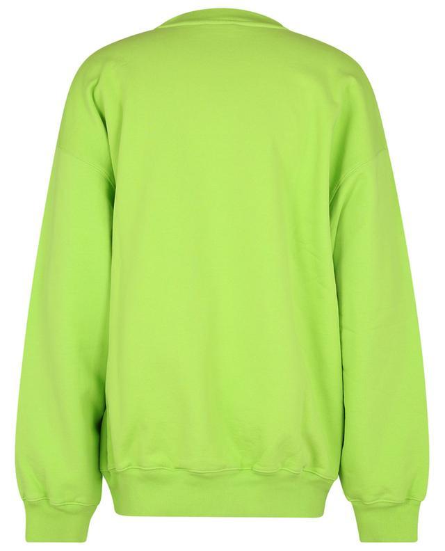 Sweat-shirt oversize à col rond brodé BB logo BALENCIAGA