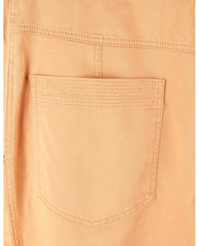 Pantalon carotte taille haute en gabardine Lars ULLA JOHNSON