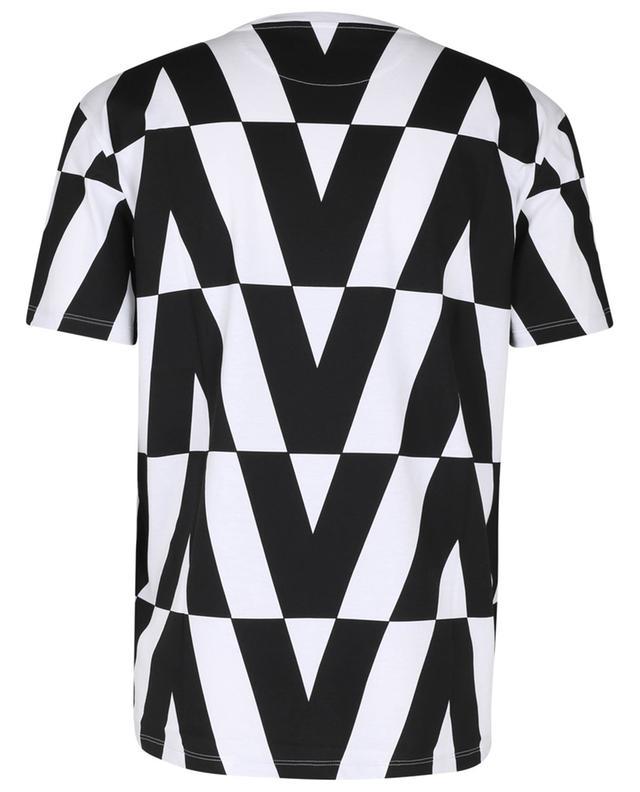 T-shirt à manches courtes imrpimé Optical Valentino VALENTINO
