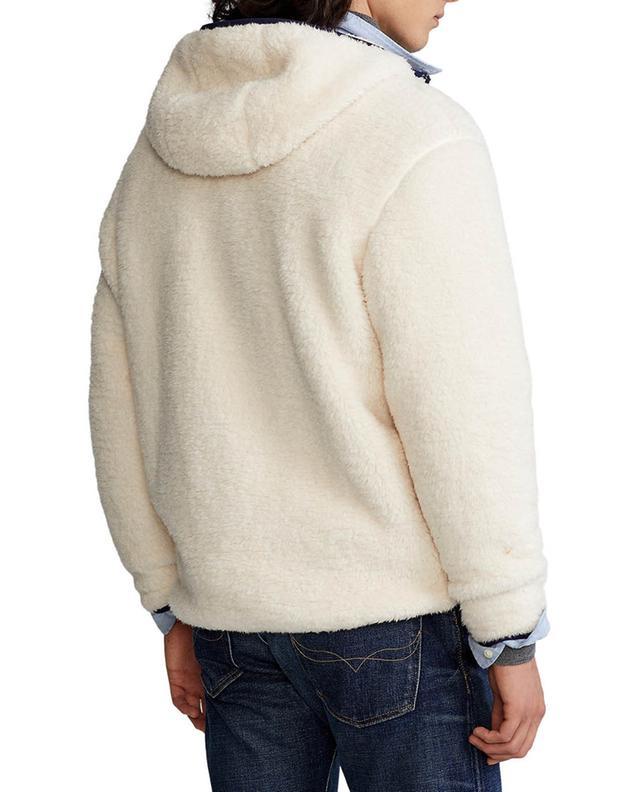 Sweat-shirt zippé en polaire brodé Pony POLO RALPH LAUREN