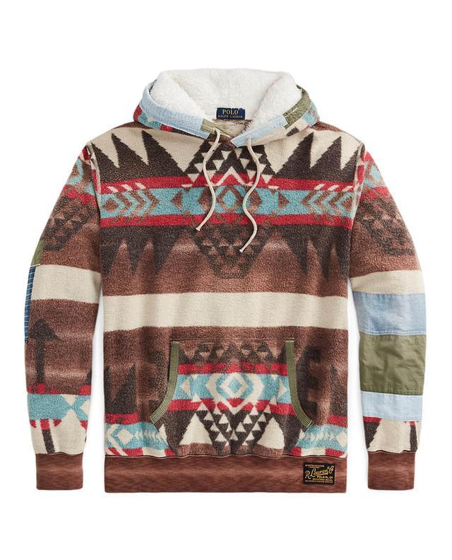 Sweat-shirt à capuche en polaire Distressed Southwestern POLO RALPH LAUREN