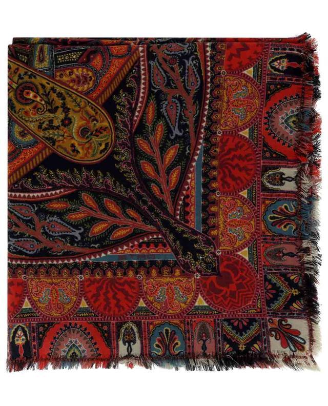 Foulard carré à motifs tapis Bombay ETRO