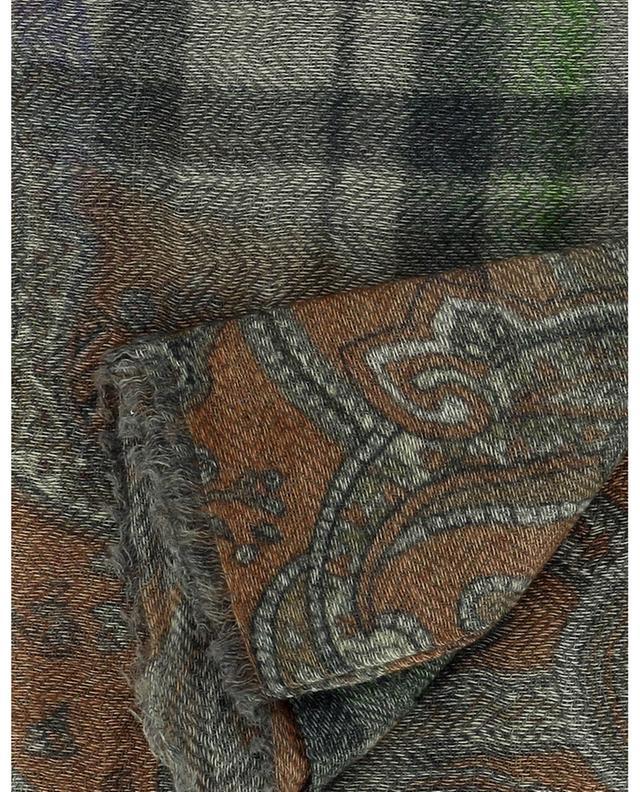 Foulard carré en laine et cachemire Hedge MALA ALISHA