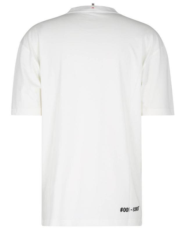 T-shirt à manches courtes imprimé logo Après-Ski MONCLER GRENOBLE