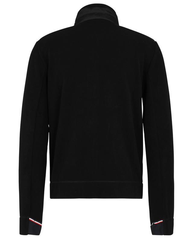 Cardigan zippé en polaire brodé logo MONCLER GRENOBLE