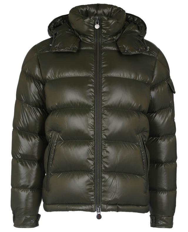 Maya glossy down jacket with hood MONCLER