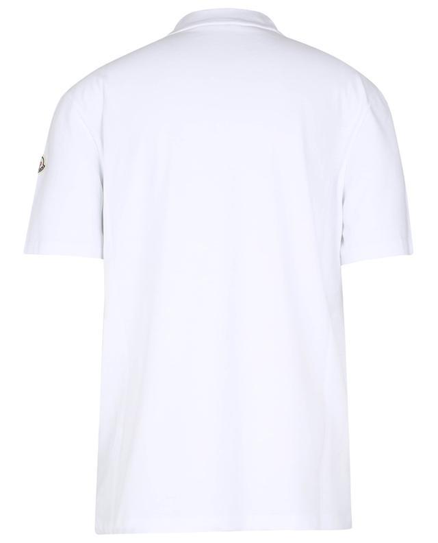 T-shirt à col rond imprimé logo MONCLER