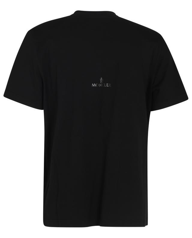 T-shirt effet superposé orné d'un logo Matte Black MONCLER