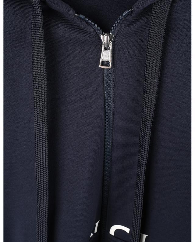 Sweat-shirt à capuche ample imprimé logo MONCLER