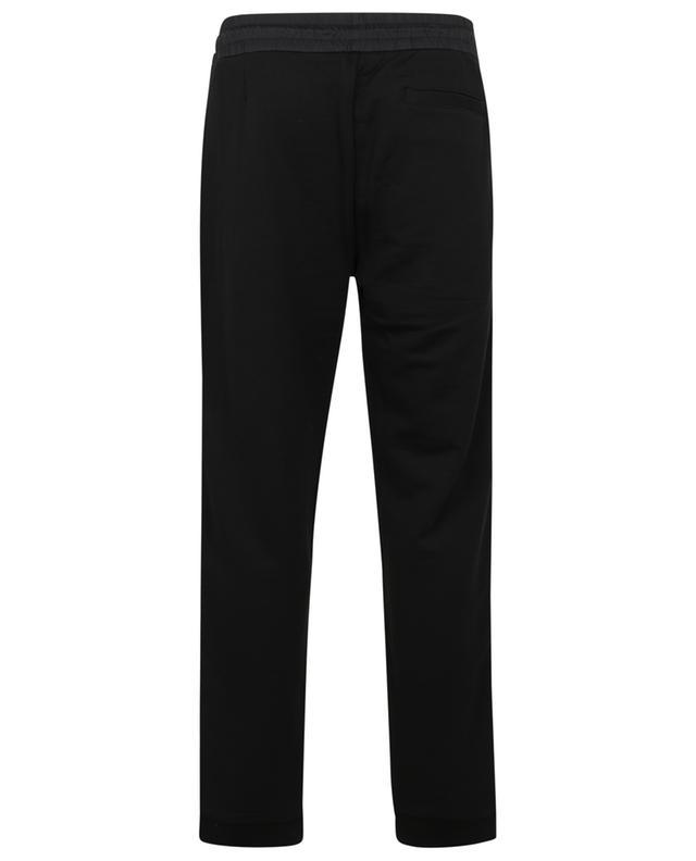 Pantalon de jogging en jersey et nylon à rayures logo MONCLER