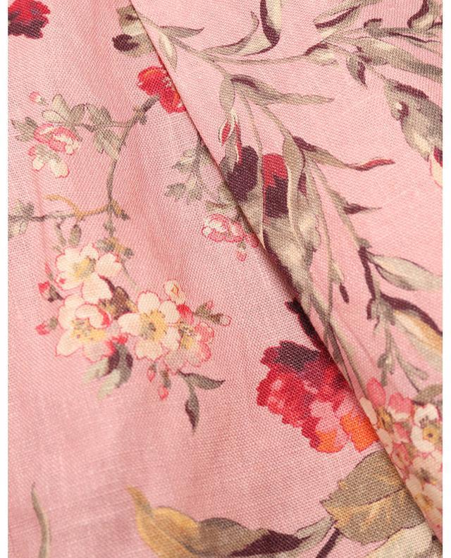 Short fleuri en lin Cassia Scallop ZIMMERMANN