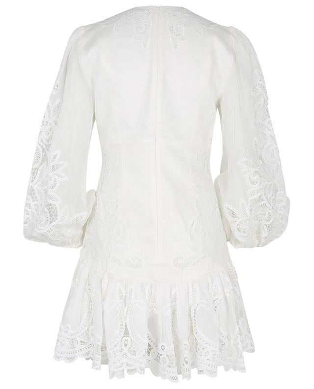 Mini robe ornée de guipure Mae Lace ZIMMERMANN