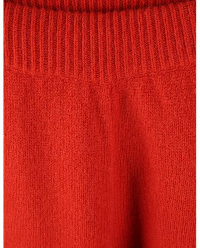 Pantalon en maille de laine à franges Cordillera ALANUI
