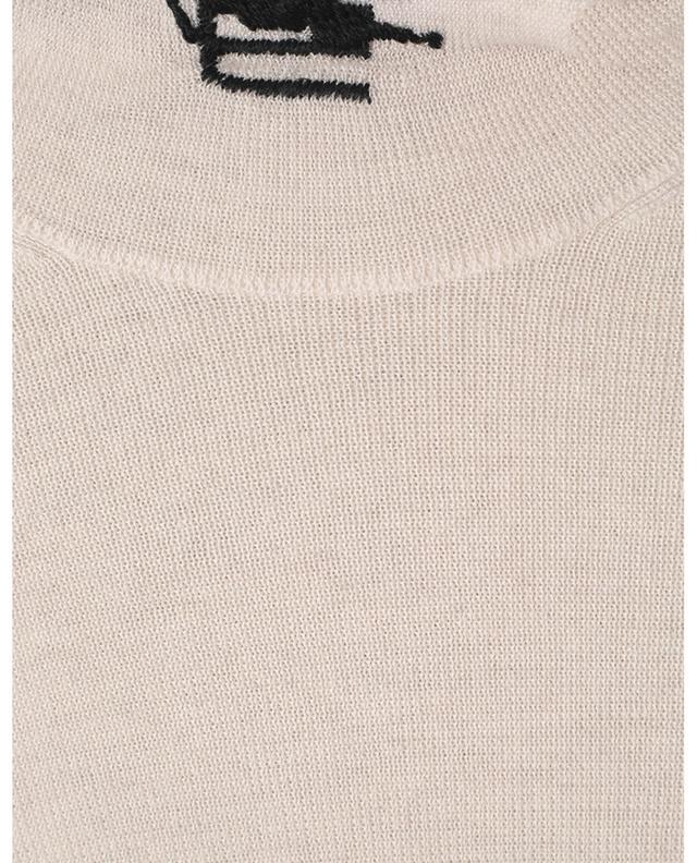 Pull chaussette fin à col roulé Pegaso ETRO