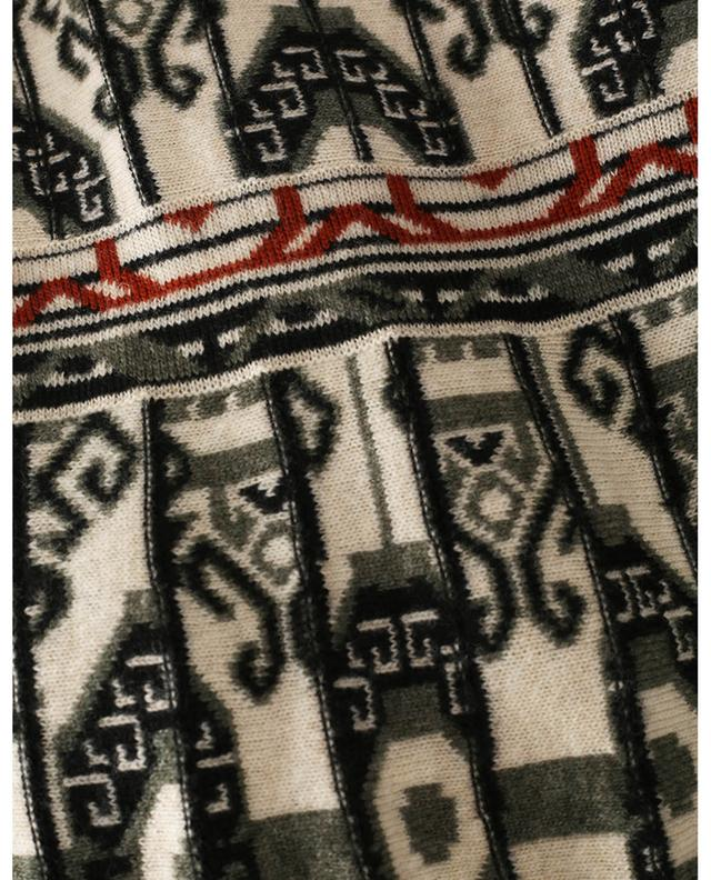 Robe sans manches en maille jacquard motif ikat ETRO