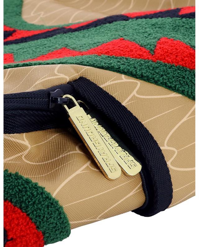 Sac à dos imprimé à patchs bouclette Spucci Gang SPRAYGROUND