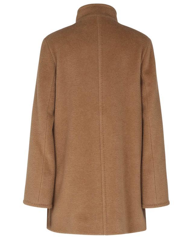 Manteau trapèze court en poil de chameau CINZIA ROCCA