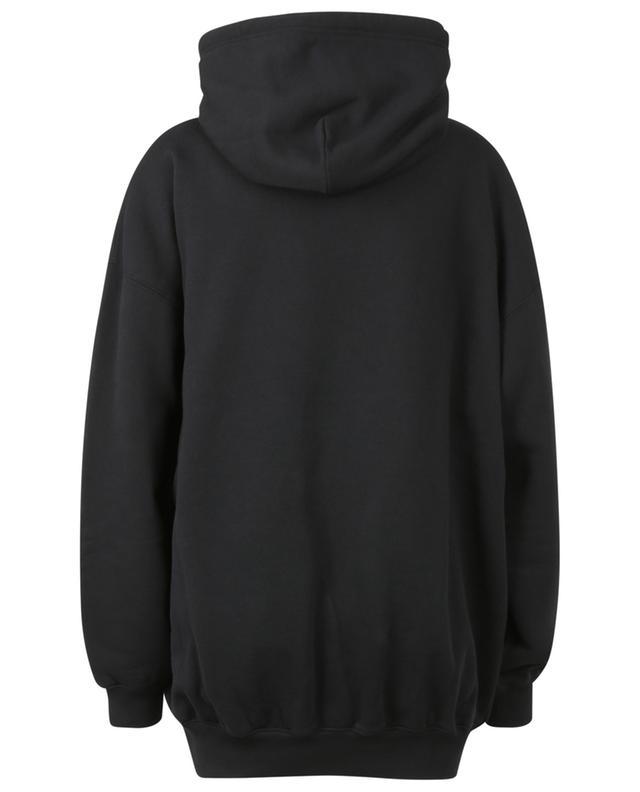 Sweat-shirt à capuche oversize imprimé BB Pixel Medium Fit BALENCIAGA