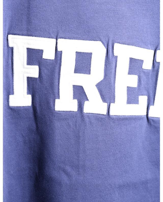 T-shirt en jersey brodé Medium Fit Free BALENCIAGA