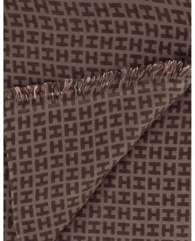 Écharpe monogrammée à dégradé de couleur Radeombre BCS HEMISPHERE