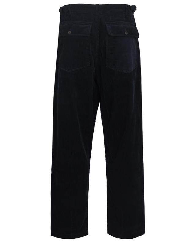 Pantalon baggy en velours côtelé Drop Crotch Fatigue Pant UNIVERSAL WORKS