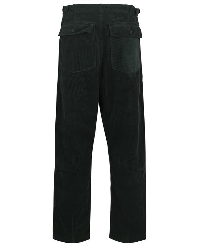 Drop Crotch Fatigue Pant baggy corduroy trousers UNIVERSAL WORKS