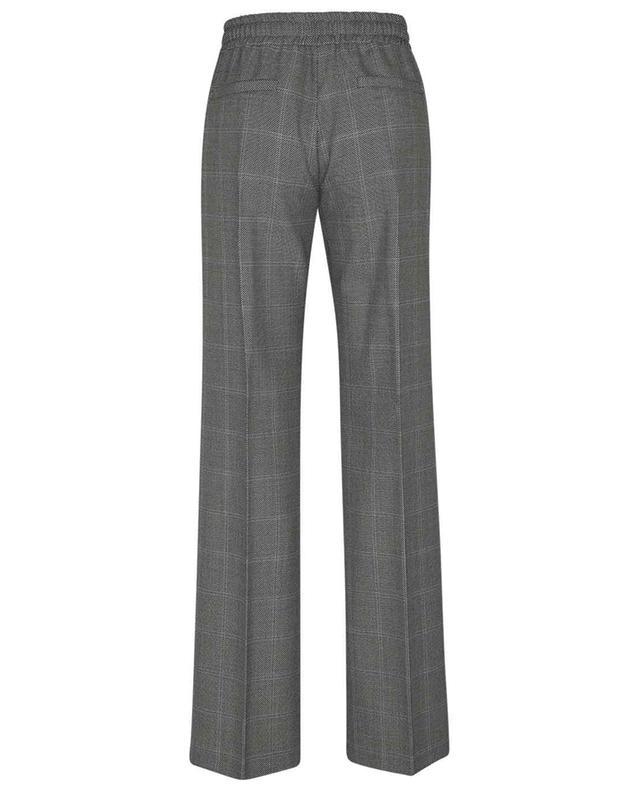 Pantalon à carreaux large en laine BARBARA BUI