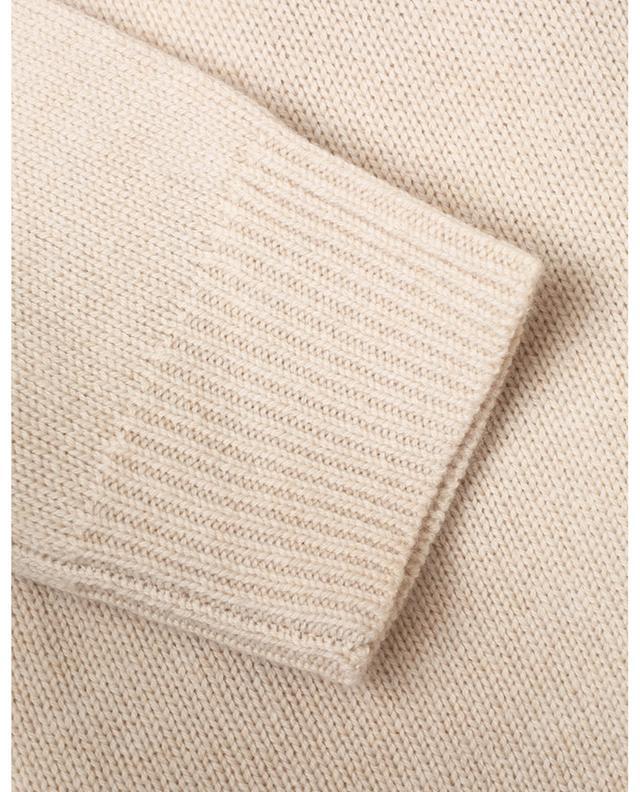 Pull boxy à col roulé en laine et cachemire BARBARA BUI
