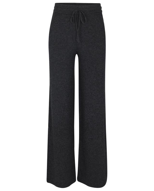 Pantalon de jogging large en maille de laine et cachemire BARBARA BUI