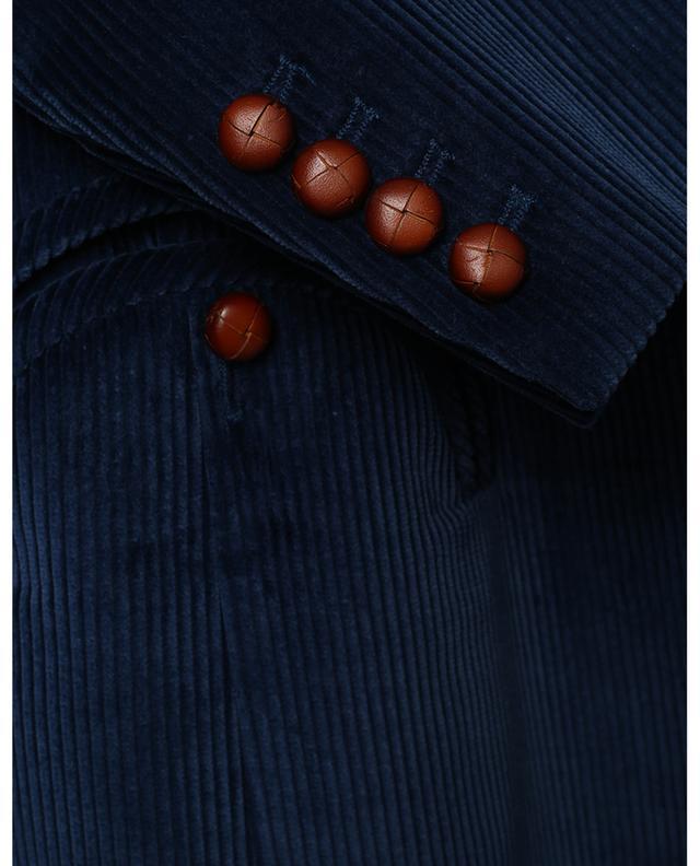 Blazer à boutonnage simple en velours côtelé Classic Touch Royal Tomboy BLAZE MILANO