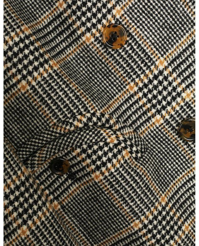 Blazer en laine à carreaux à boutonnage double Thalima Everyday BLAZE MILANO