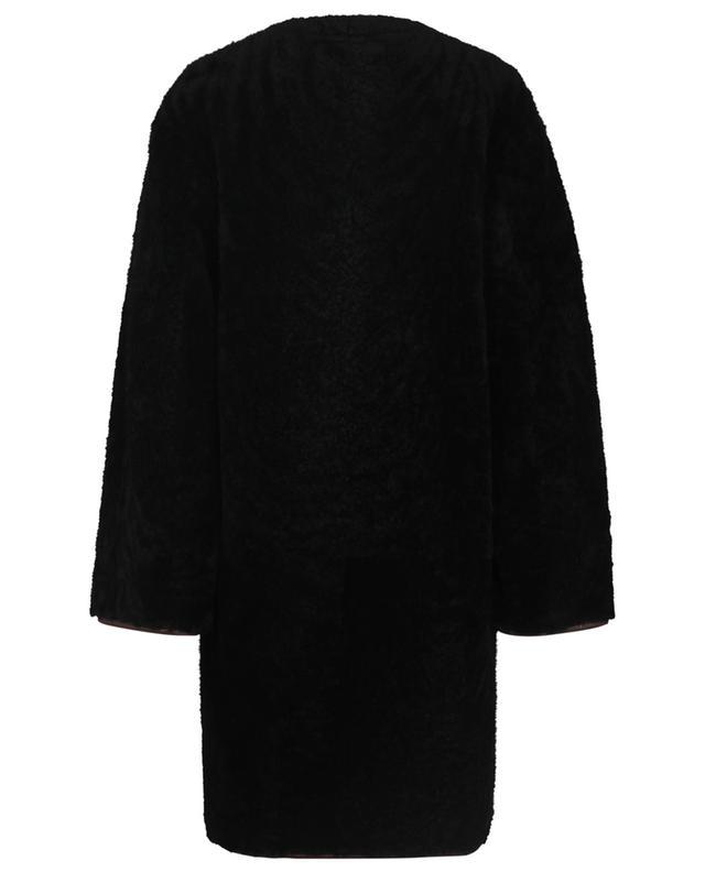 Manteau trois-quarts en peau lainée CHLOE