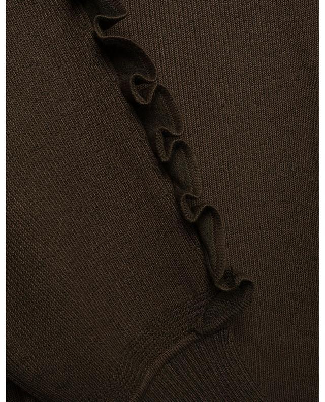 Pull chaussette bicolore à volants CHLOE