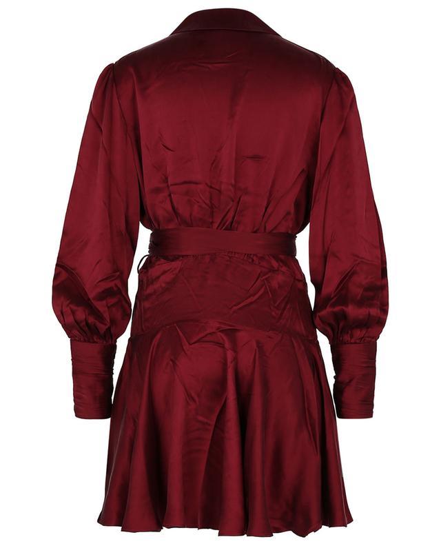 Mini robe portefeuille en soie Concert ZIMMERMANN