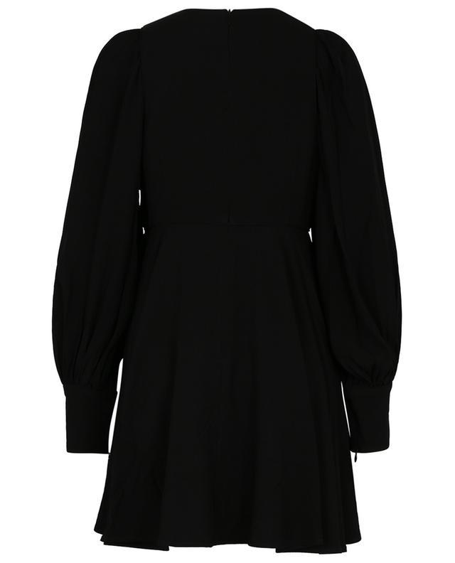 Mini robe en crêpe à manches bouffantes The Keyhole Concert ZIMMERMANN