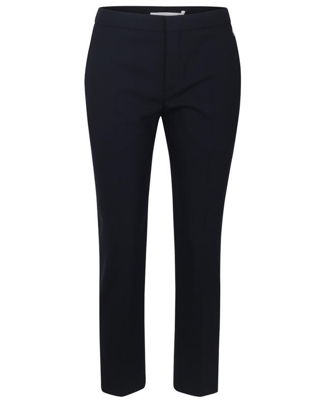 Pantalon raccourci en laine CHLOE