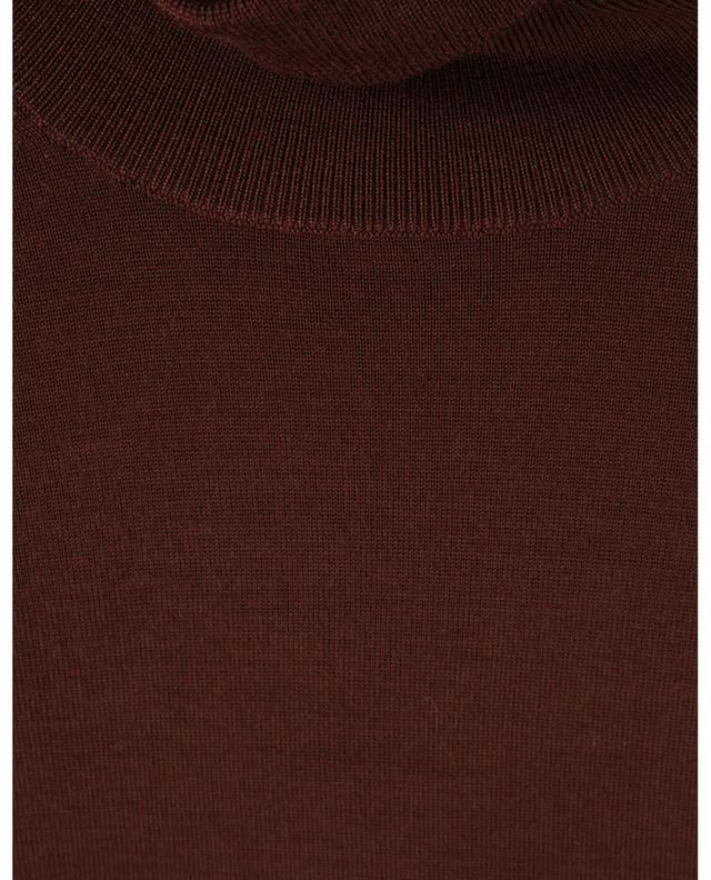 Pull à col roulé fin en laine CHLOE