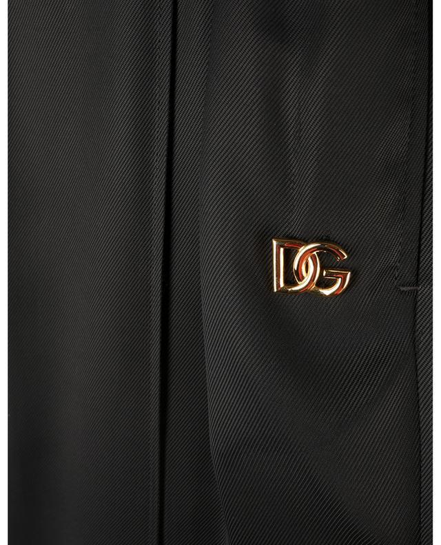Pantalon palazzo en sergé monogramme DG DOLCE & GABBANA