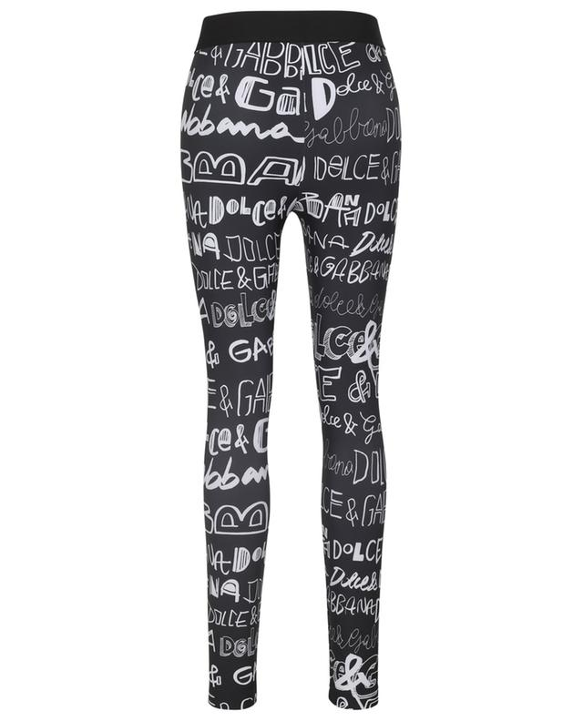 Legging en jersey imprimé DG Graffiti DOLCE & GABBANA