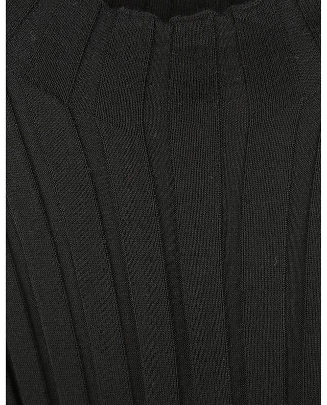 Pull chaussette côtelé fin à col montant BONGENIE GRIEDER