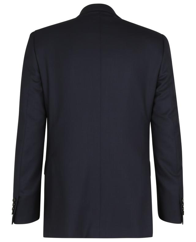 Blazer à boutonnage simple en laine texturée losanges Ravello BRIONI