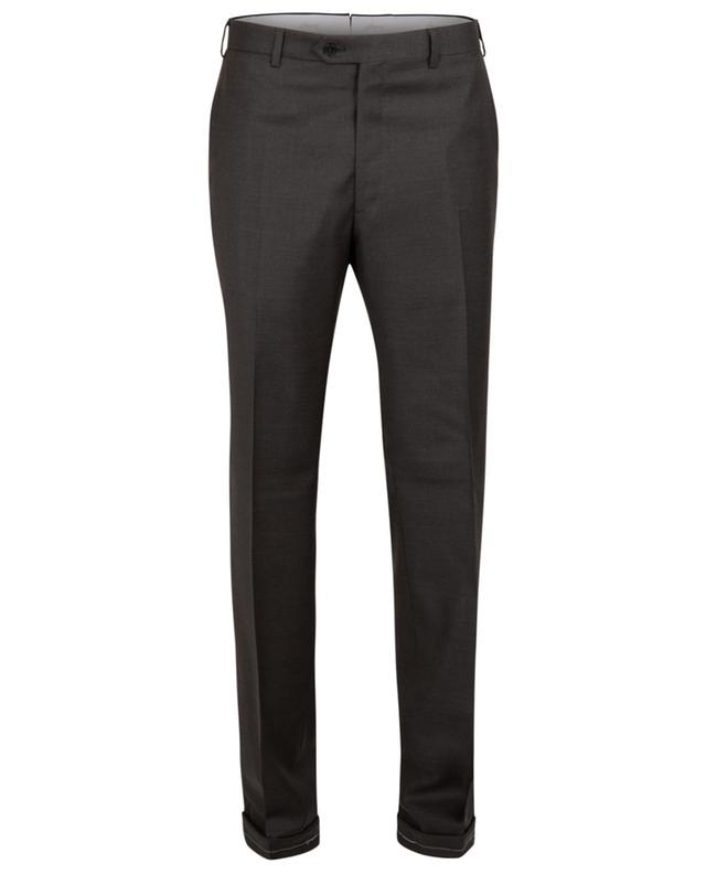 Tigullio slim fit wool trousers BRIONI