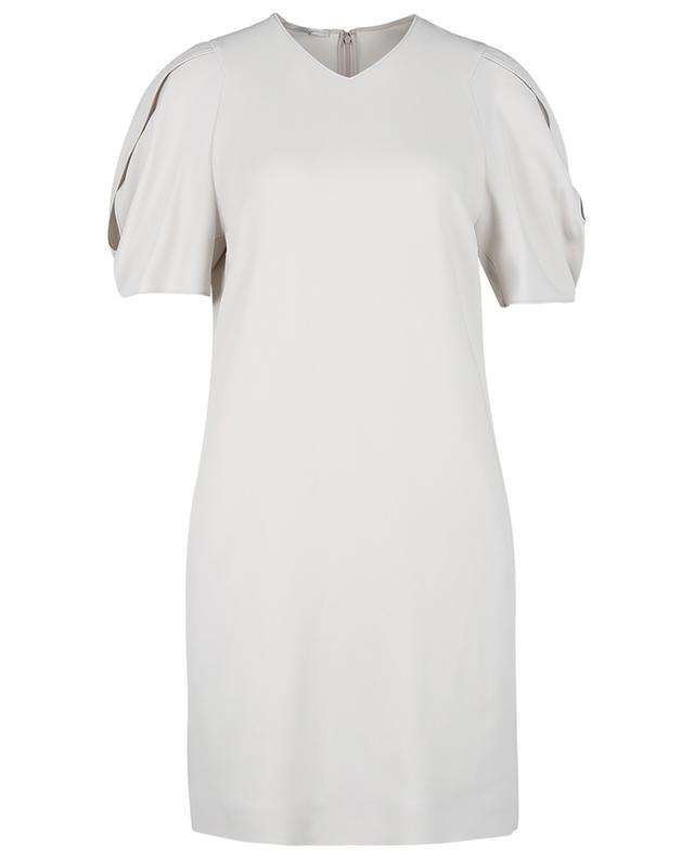 Mini robe trapèze à manches bouffantes et découpes Malia STELLA MCCARTNEY