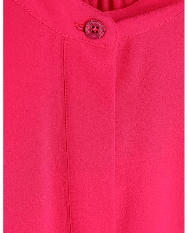 Robe chemise midi asymétrique en soie Olivia STELLA MCCARTNEY